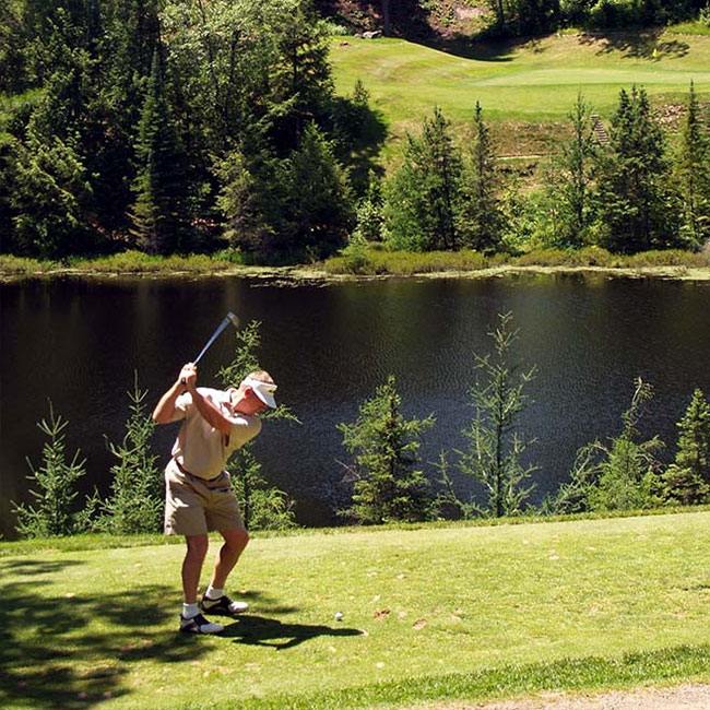 Golf in Cable, Wisconsin