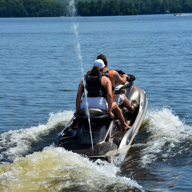 Watersports in Cable, WI